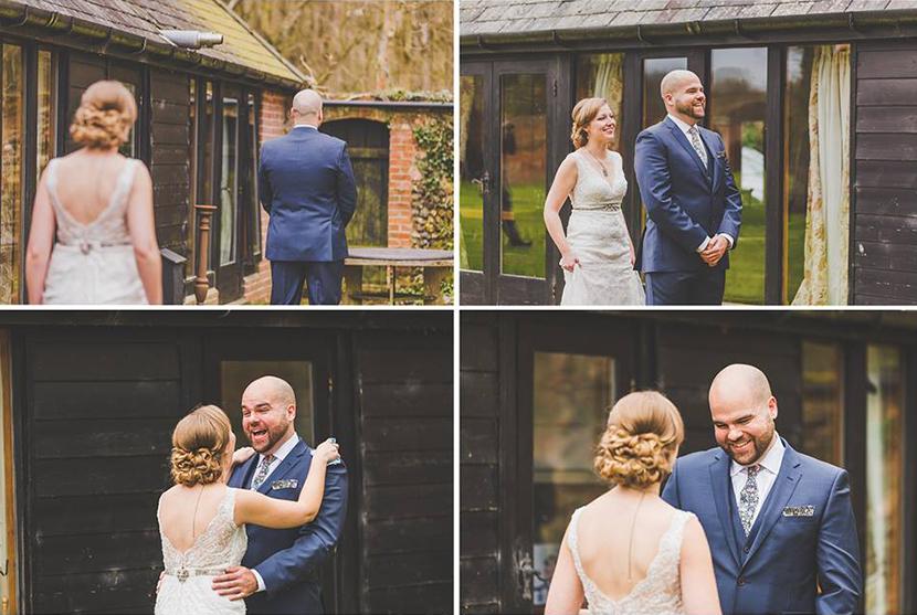 wedding first look UK