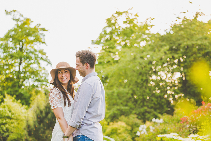 Hylands park engagement shoot