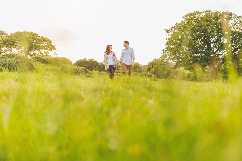 Hadleigh Castle engagement shoot by Sam and Louise Photography