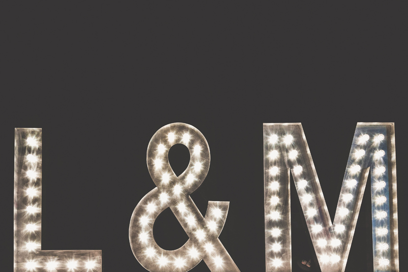 sam and louise photography, light up letters lincolnshire