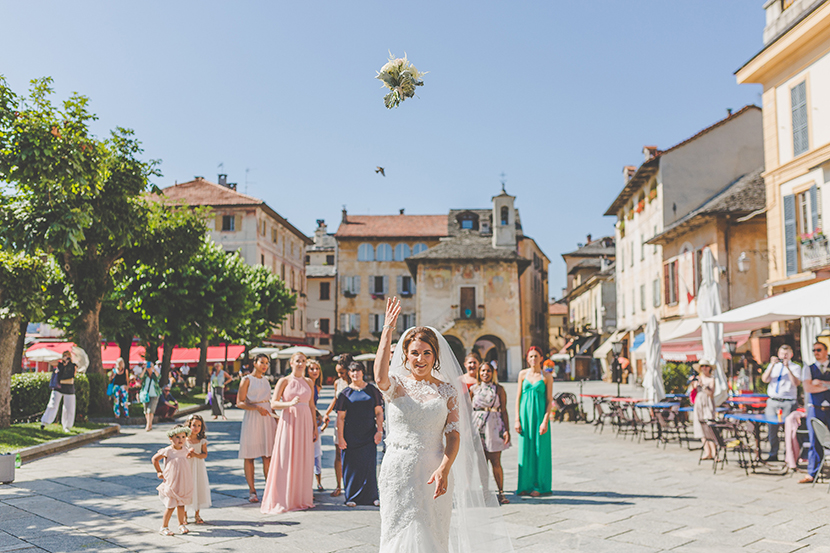 Italian lake wedding