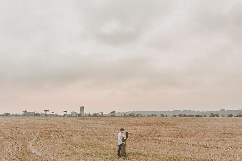 Couple shoot in Suffolk