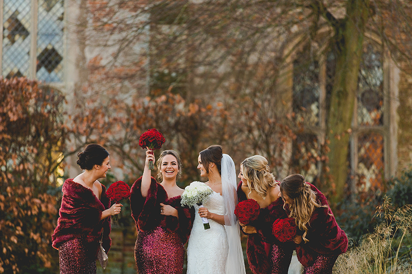 Layer Marney tower wedding