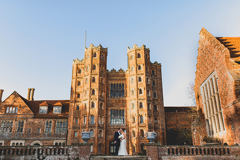 Layer Marney tower wedding by Sam and Louise photography. Essex Suffolk wedding photographers