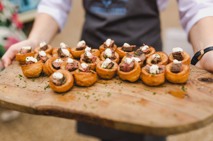 wedding canapes