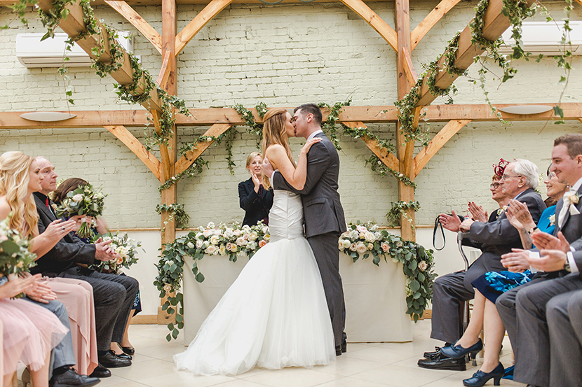 first kiss at gaynes park