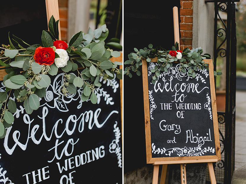 wedding sign welcome to our wedding