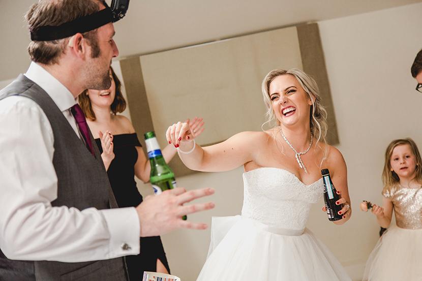 bride enjoys a dance