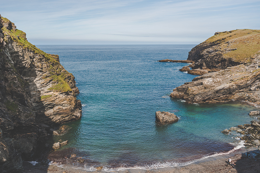 Cornwall coast landscape photography