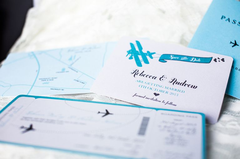 Unique wedding stationery ideas