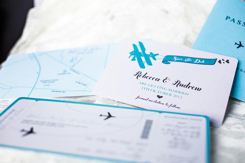 Unique wedding stationery ideas