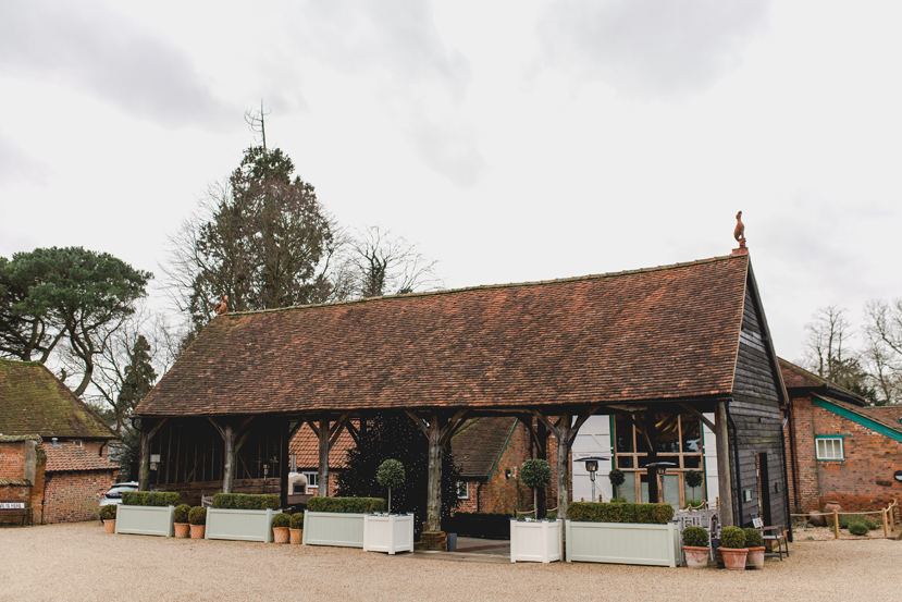 gaynes park barn in epping