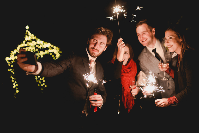 wedding guest sparklers