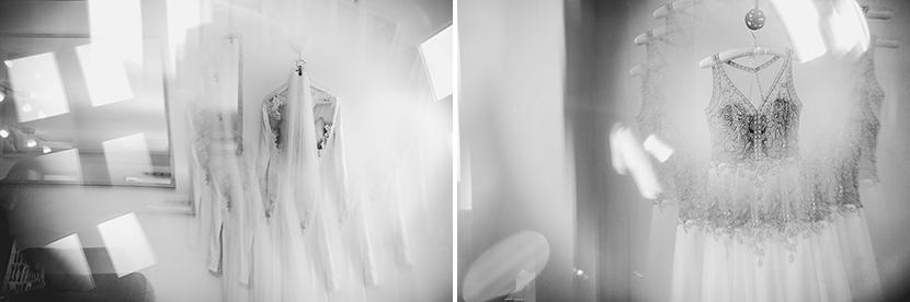 artistic wedding dress photos