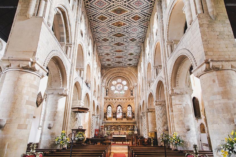 waltham abbey interior