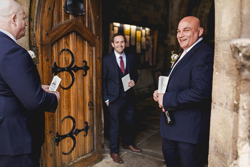 groomsmen at waltham abbey