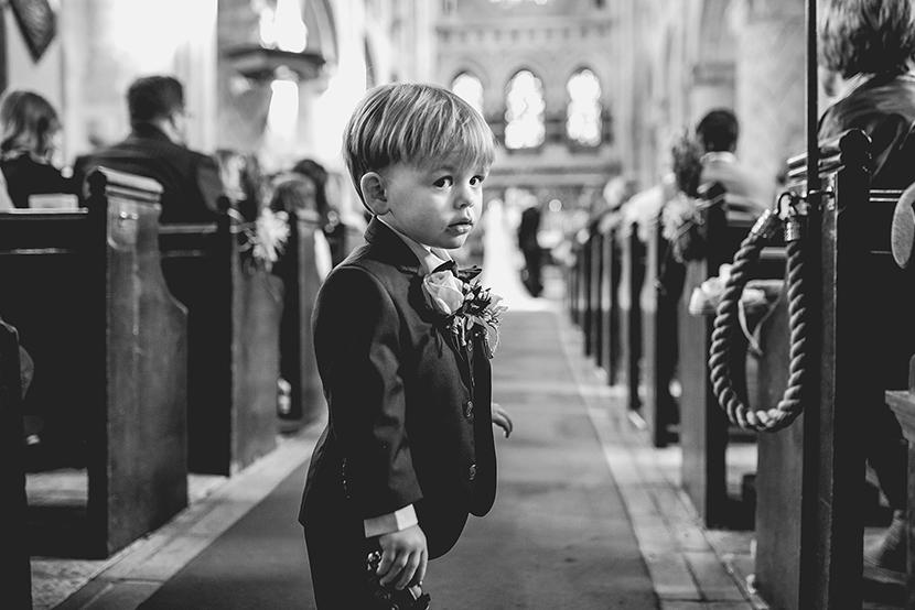 little boy at waltham abbey