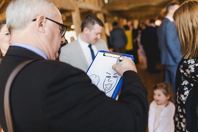 wedding day at Blake Hall
