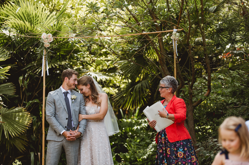 henstead exotic garden wedding