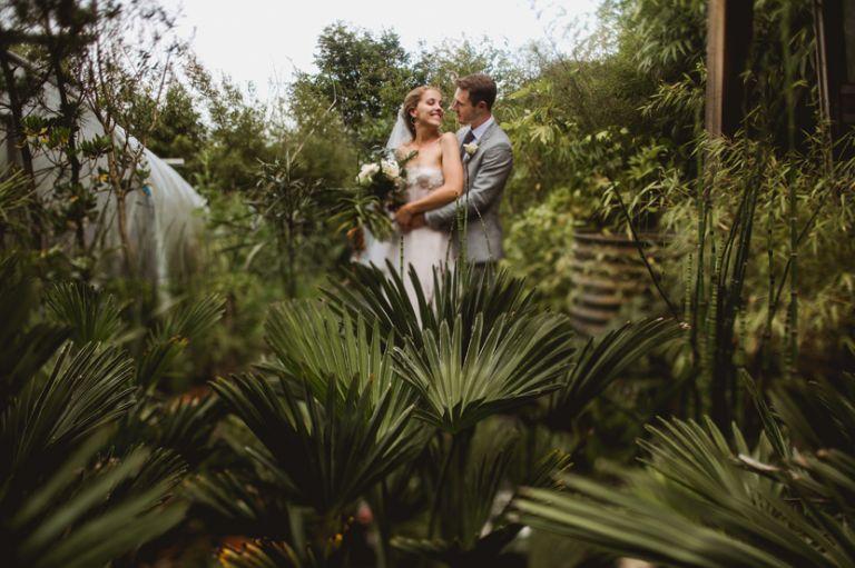 henstead exotic garden wedding