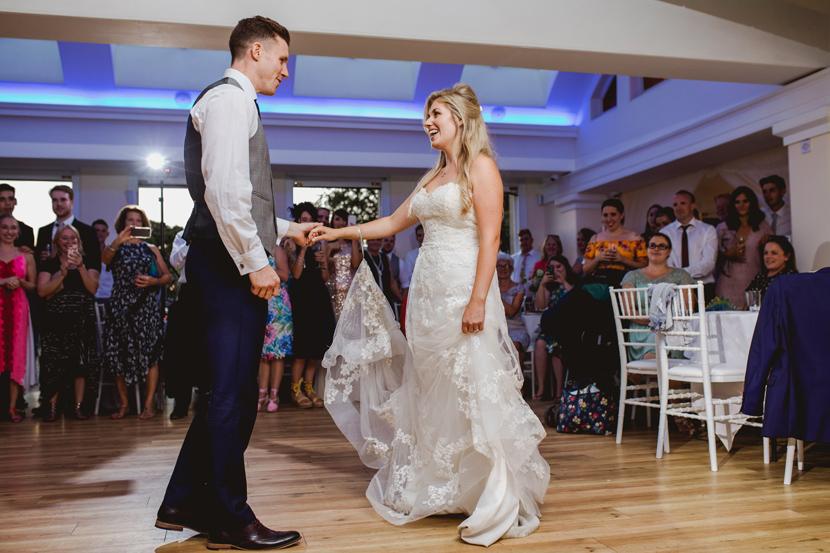 Pembroke lodge wedding couple